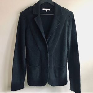 CAbi Black Knit Cardigan, SZ L, Great Condition